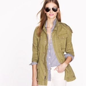 J. Crew *hard to find boyfriend fatigue jacket XS